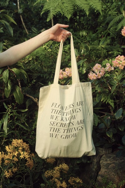 Fieldguided tote bag